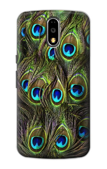 Printed Peacock Feather Motorola DROID Turbo Case