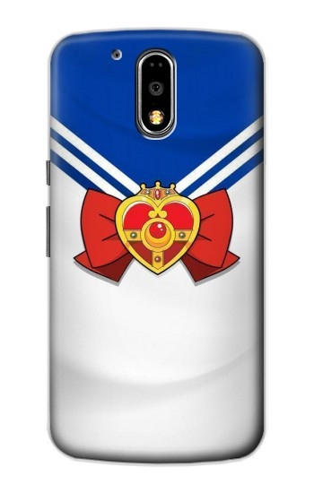 Printed Sailor Moon Brooch and Bow Motorola DROID Turbo Case