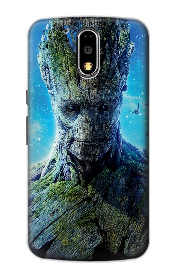 Printed Groot Guardians of the Galaxy Motorola DROID Turbo Case