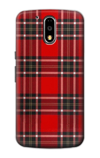 Printed Tartan Red Pattern Motorola DROID Turbo Case