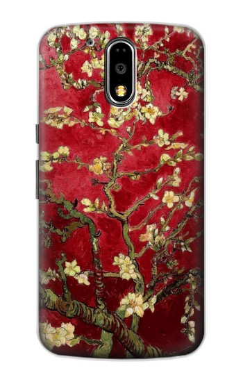 Printed Red Blossoming Almond Tree Van Gogh Motorola DROID Turbo Case