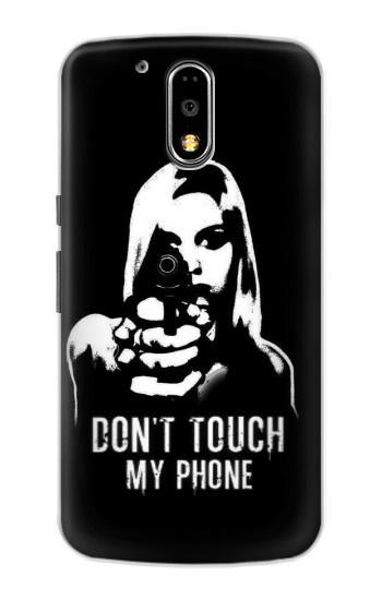 Printed Girl Do Not Touch My Phone Motorola DROID Turbo Case