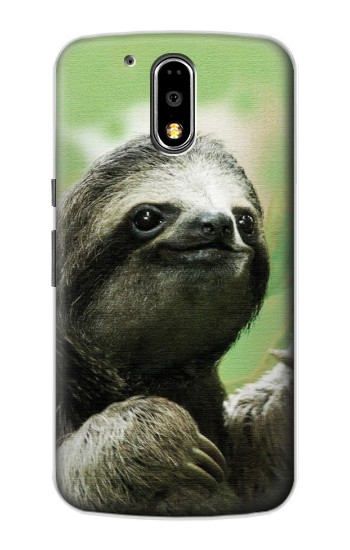 Printed Smiling Sloth Motorola DROID Turbo Case