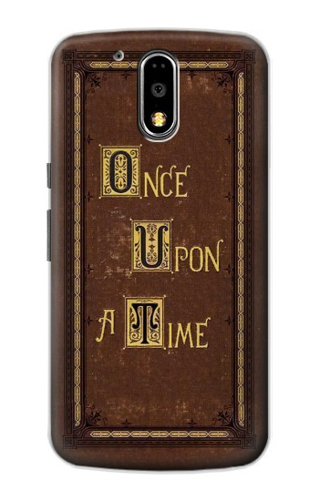Printed Once Upon a Time Book Cover Motorola DROID Turbo Case