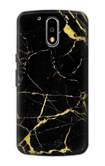 Printed Gold Marble Graphic Printed Motorola DROID Turbo Case