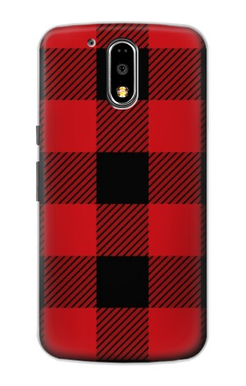 Printed Red Buffalo Check Pattern Motorola DROID Turbo Case