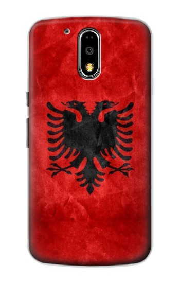 Printed Albania Red Flag Motorola DROID Turbo Case