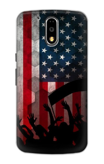 Printed USA American Football Flag Motorola DROID Turbo Case