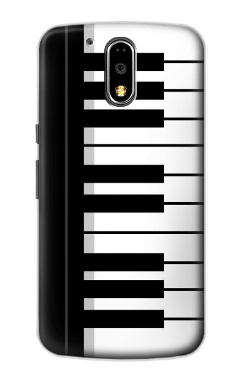 Printed Black and White Piano Keyboard Motorola DROID Turbo Case