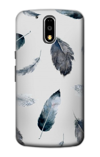 Printed Feather Paint Pattern Motorola DROID Turbo Case