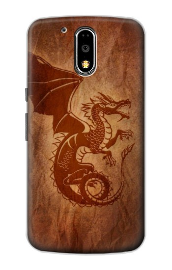 Printed Red Dragon Tattoo Motorola DROID Turbo Case