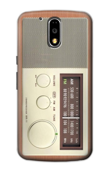 Printed FM AM Wooden Receiver Graphic Motorola DROID Turbo Case