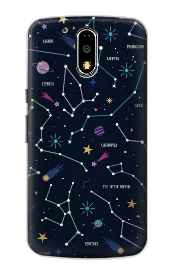 Printed Star Map Zodiac Constellations Motorola DROID Turbo Case