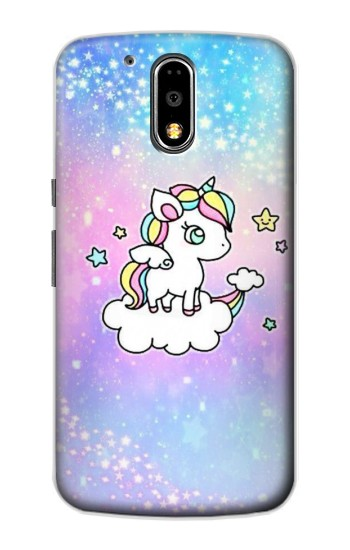Printed Cute Unicorn Cartoon Motorola DROID Turbo Case