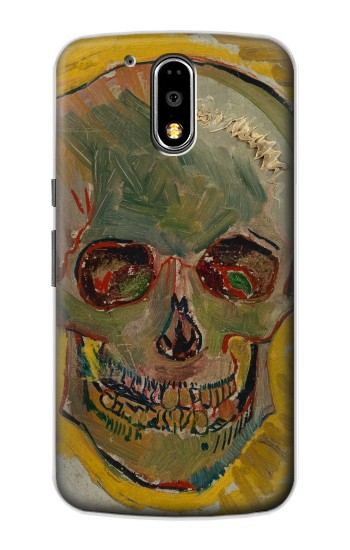 Printed Vincent Van Gogh Skull Motorola DROID Turbo Case