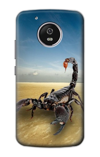 Printed Desert Scorpion Motorola Moto G4 Play Case