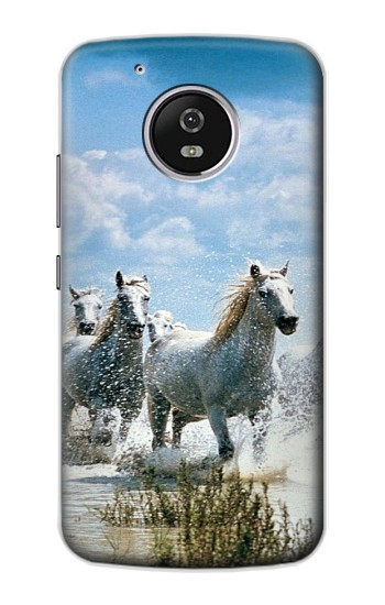 Printed White Horse 2 Motorola Moto G4 Play Case