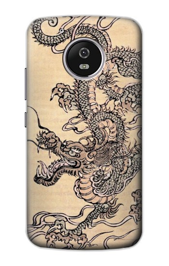 Printed Antique Dragon Motorola Moto G4 Play Case