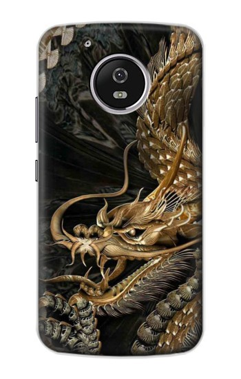 Printed Gold Dragon Motorola Moto G4 Play Case