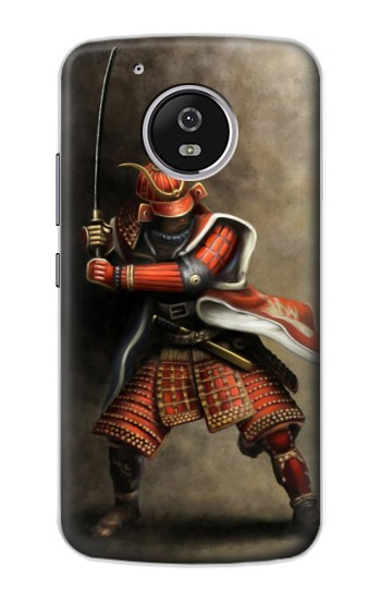 Printed Japan Red Samurai Motorola Moto G4 Play Case