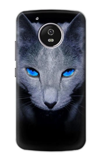 Printed Russian Blue Cat Motorola Moto G4 Play Case