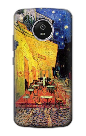 Printed Van Gogh Cafe Terrace Motorola Moto G4 Play Case