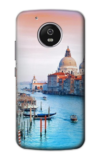Printed Beauty of Venice Italy Motorola Moto G4 Play Case