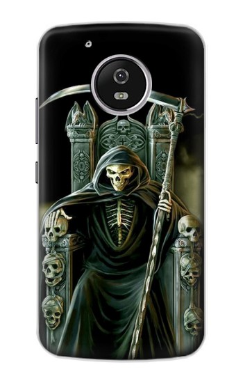 Printed Grim Reaper Skeleton King Motorola Moto G4 Play Case