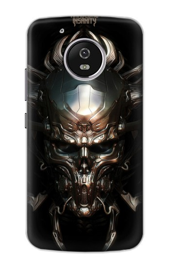 Printed Hardcore Insanity Metal Skull Motorola Moto G4 Play Case