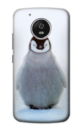 Printed Penguin Ice Motorola Moto G4 Play Case