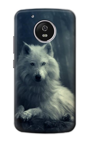 Printed White Wolf Motorola Moto G4 Play Case