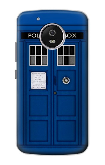 Printed Doctor Who Tardis Motorola Moto G4 Play Case