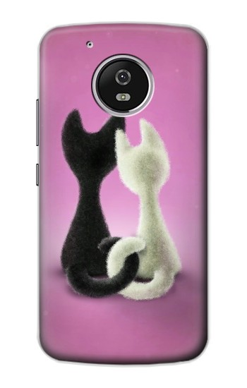 Printed Love Cat Motorola Moto G4 Play Case