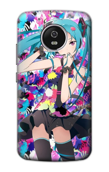 Printed Vocaloid Hatsune Miku Tell Your World Motorola Moto G4 Play Case