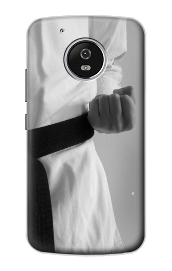 Printed Black Belt Karate Motorola Moto G4 Play Case