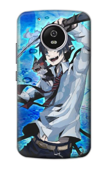 Printed Ao no Exorcist Blue Exorcist Rin Okumura Motorola Moto G4 Play Case