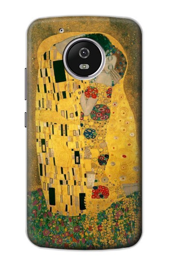 Printed Gustav Klimt The Kiss Motorola Moto G4 Play Case
