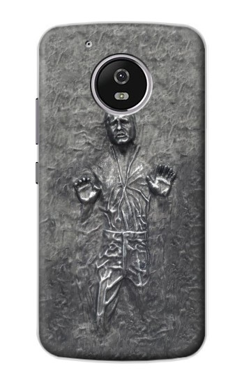 Printed Han Solo in Carbonite Motorola Moto G4 Play Case