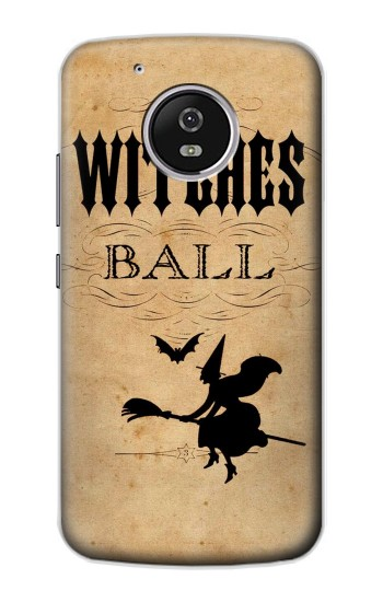 Printed Vintage Halloween The Witches Ball Motorola Moto G4 Play Case