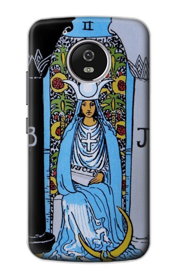 Printed High Priestess Tarot Card Motorola Moto G4 Play Case