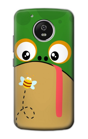 Printed Frog Bee Cartoon Motorola Moto G4 Play Case