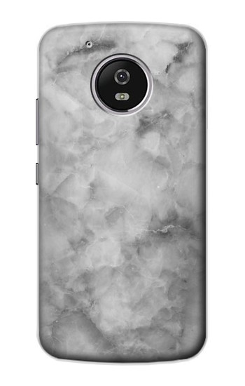 Printed Gray Marble Texture Motorola Moto G4 Play Case