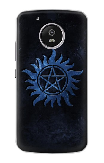 Printed Supernatural Anti Possession Symbol Motorola Moto G4 Play Case