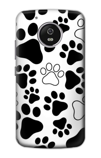Printed Dog Paw Prints Motorola Moto G4 Play Case