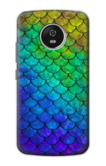 Printed Mermaid Fish Scale Motorola Moto G4 Play Case
