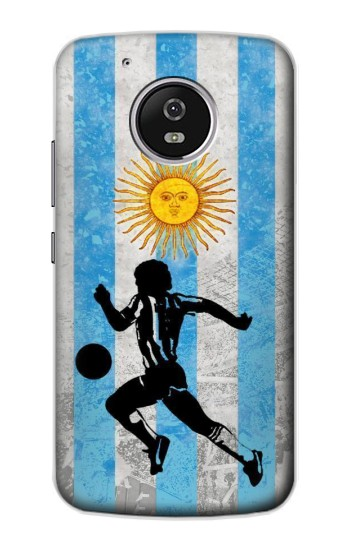 Printed Argentina Football Flag Motorola Moto G4 Play Case