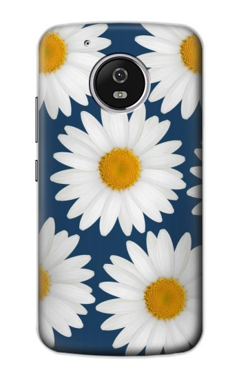 Printed Daisy Blue Motorola Moto G4 Play Case