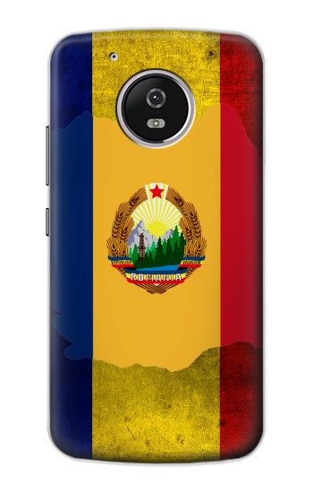 Printed Romania Flag Motorola Moto G4 Play Case