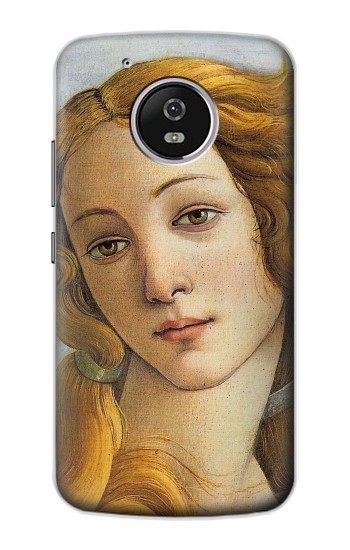 Printed Botticelli Birth of Venus Painting Motorola Moto G4 Play Case