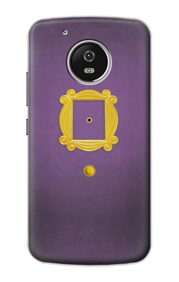 Printed Friends Purple Door Minimalist Motorola Moto G4 Play Case